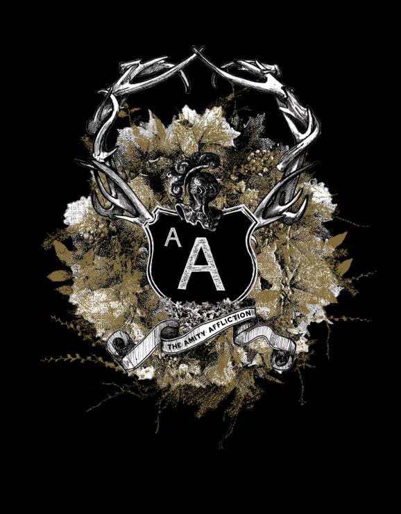The Amity Affliction Logo Wallpaper