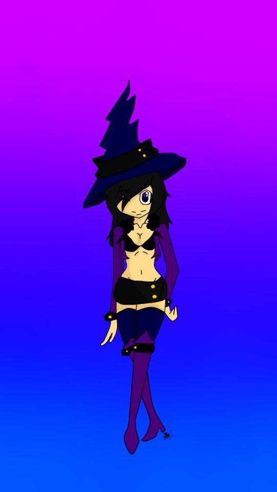 Witch by xXTonyKunXx