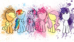 Splatter Ponies WP