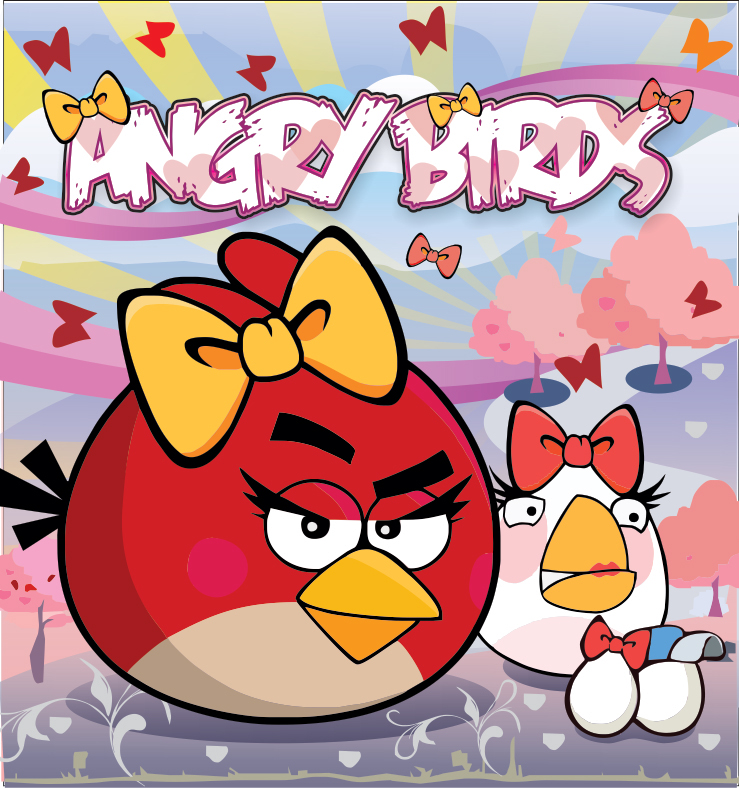 angry birds red female - photo #38