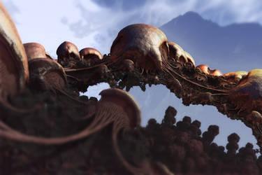 Fungus Bridge by LeoS777