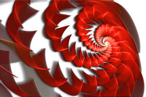 JWF Red-White Spiral by LeoS777
