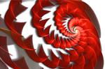 JWF Red-White Spiral