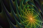 JWFCA Green-Orange Spiral