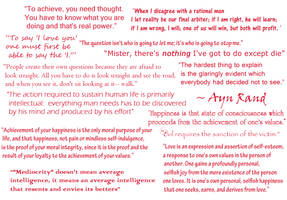 Ayn Rand's Quotes by Lerico