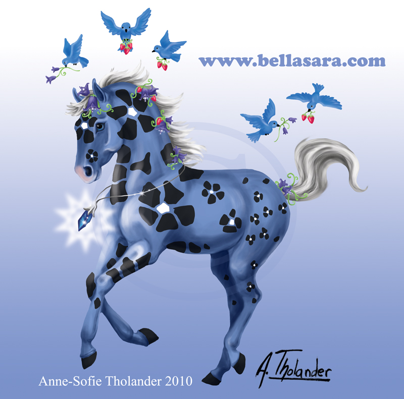 [ARTISTE] Fie Tholander Bella_Sunflowers___Bluebelle_by_MiniBaah