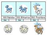 Icy Deer Fakemon