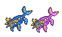 Coeluminate Sprite - the Ancient Lantern fakemon by bootlegend