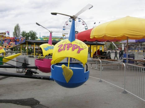 THERE IS A RIDE NAMED AFTER ME