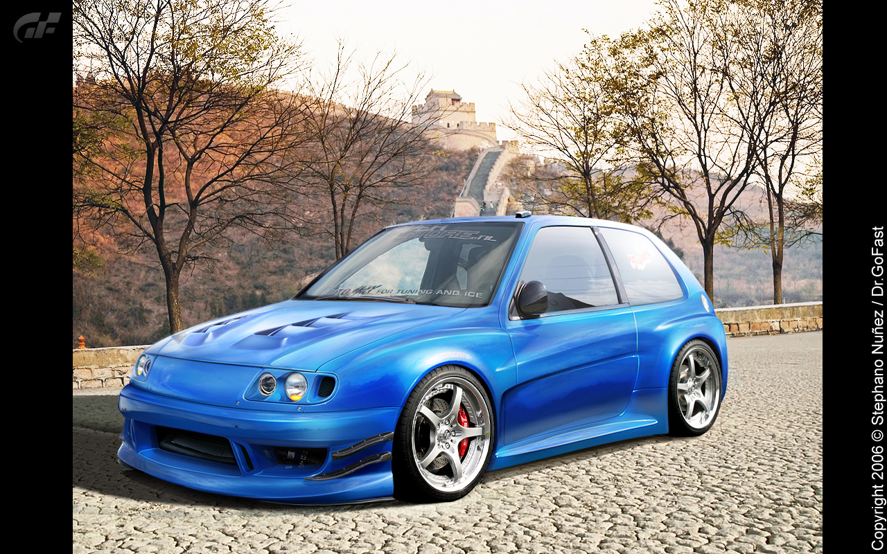 citroen saxo vts widebody by dr gofast on deviantart. Black Bedroom Furniture Sets. Home Design Ideas