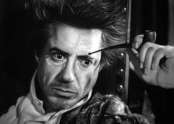 Robert Downey Jr/Sherlock Holmes by Tinchi147