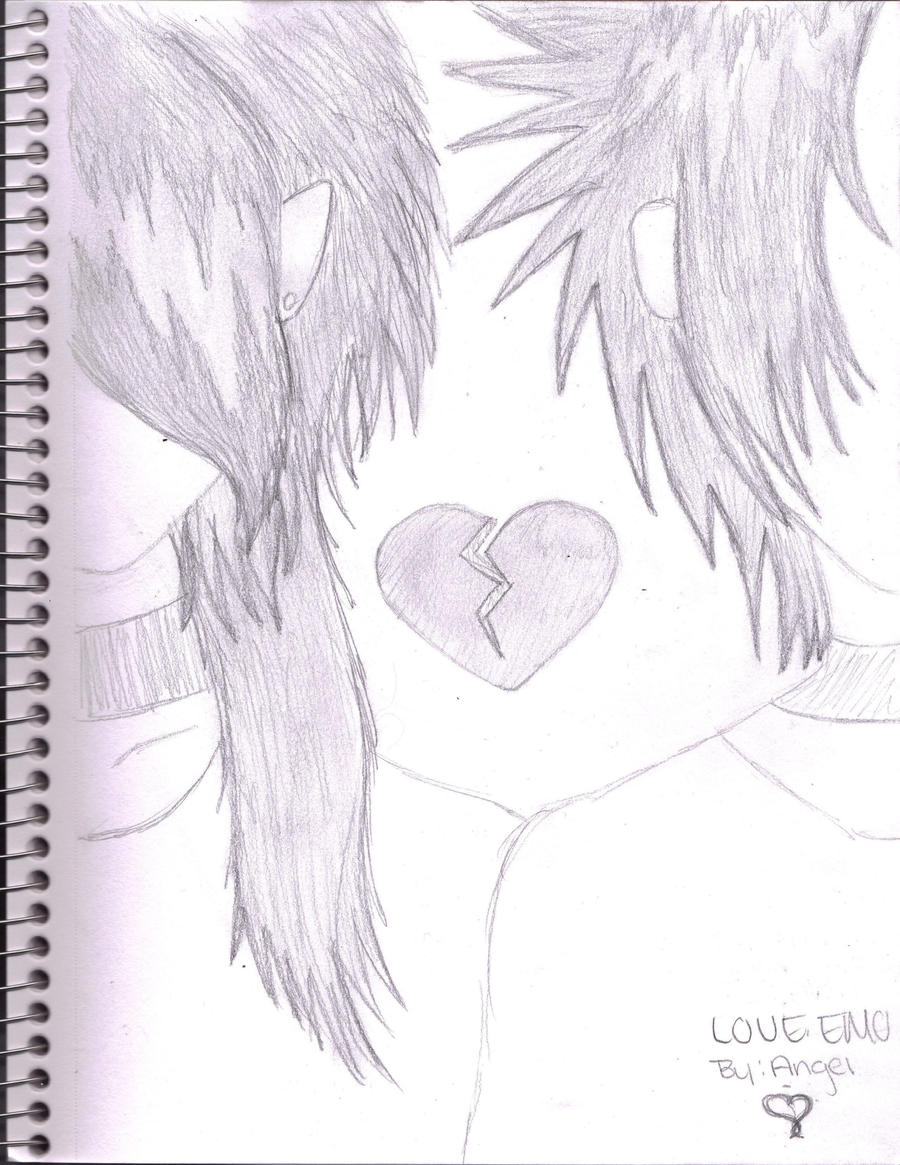 emo love by DragonAn931 on DeviantArt