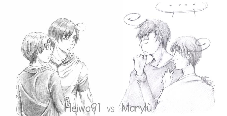 Heiwa91 vs Marylu APH by maryluis