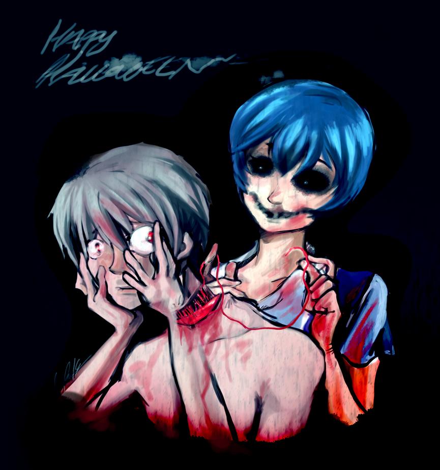 Buon Halloween NGE by maryluis