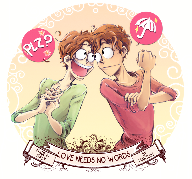 Love Needs No Words APH by maryluis
