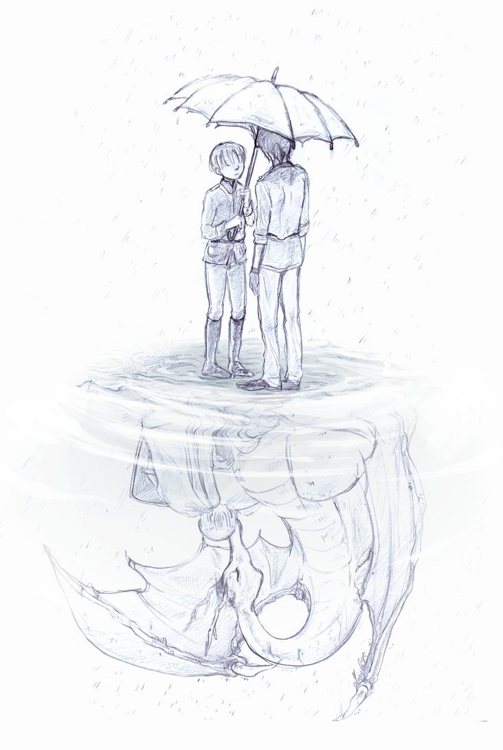 Raining by maryluis