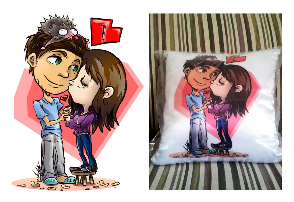 Love Pillow by maryluis