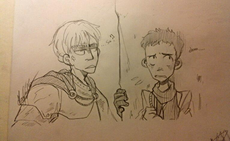 What are you doing here MERlin by maryluis