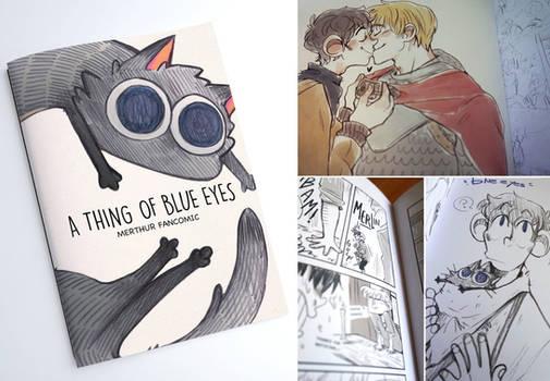 A thing of blue eyes_BBC Merlin