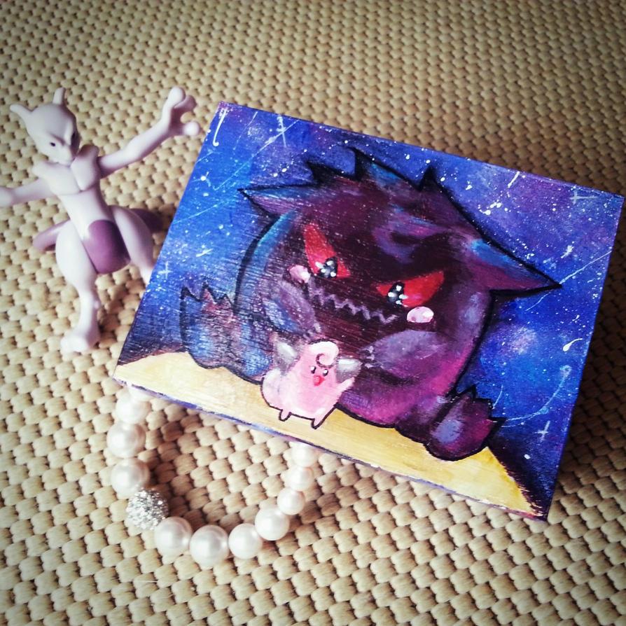 Gengar box by loukette03