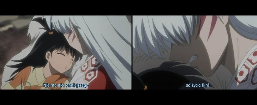 in what inuyasha episode does sesshomaru meet rin