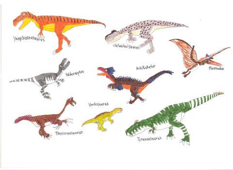 Random dinosaurs 1