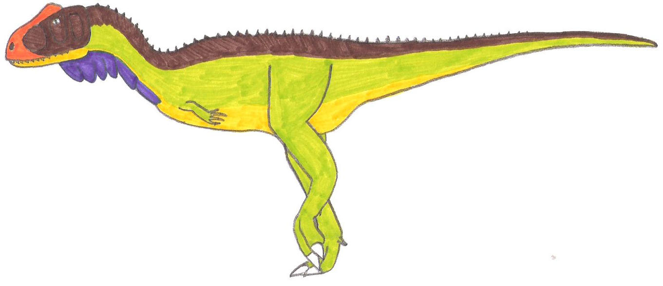 Rahiolisaurus by RickRaptor105