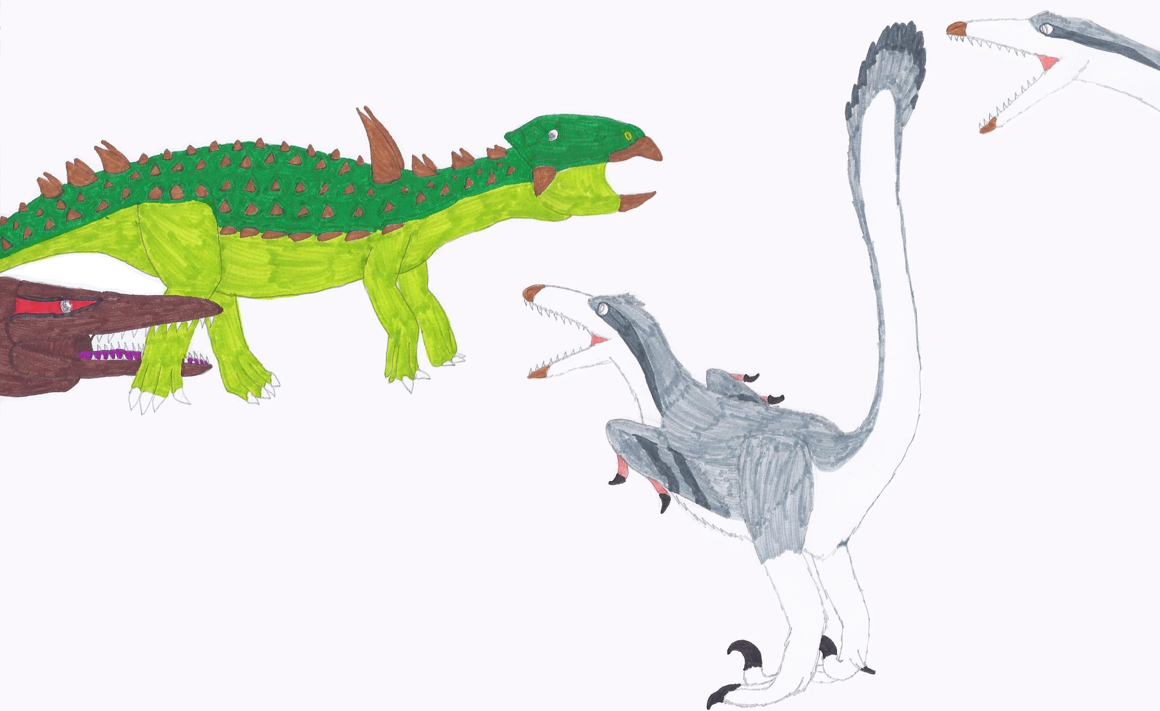 how to draw antarctic animals