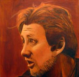 Shane Macgowan portrait Finish