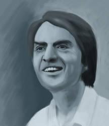 Carl Sagan- Photoshop Practice