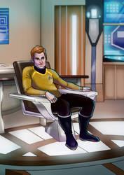 Captain James T. Kirk by SeekHim