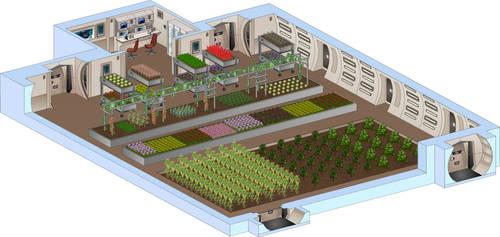 Saratoga: Botanical Lab by SeekHim