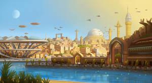 Khasha, the City of Steel by SeekHim