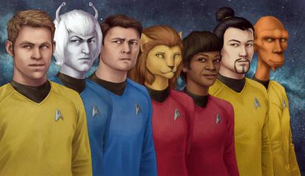 Star Trek: Saratoga Crew