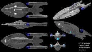 USS Saratoga Orthos by SeekHim
