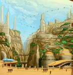 Talee, the City of Deep Rock
