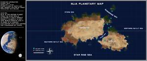 Nlia Planetary Map by SeekHim