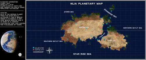 Nlia Planetary Map by SeekHim