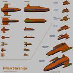 Nlian Ships by SeekHim