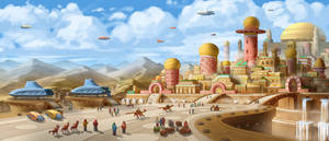 Galeel, the City of Sky Reach