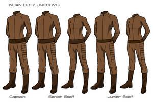 Nlian Duty Uniforms 2014