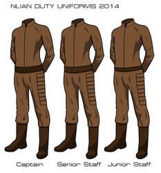 Nlian Duty Uniforms 2014 by SeekHim