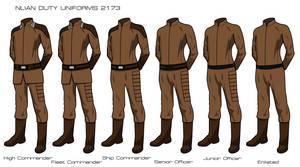 Nlian Duty Uniforms 2173