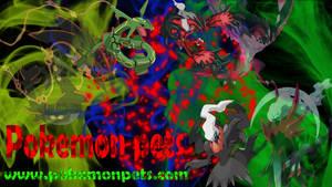 Yveltal, Darkrai and Rayquaza HD wallpaper