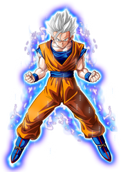 Son Gohan Ultra Instinct (Orange Gi) by jagsons