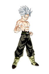 Ultra Instinct Future Trunks (no UI aura) by jagsons