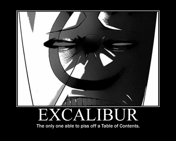 Toc Excalibur Face By Zfish9 On Deviantart