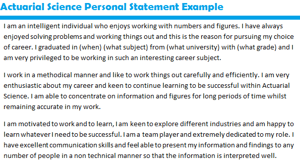 Personal statement princeton review