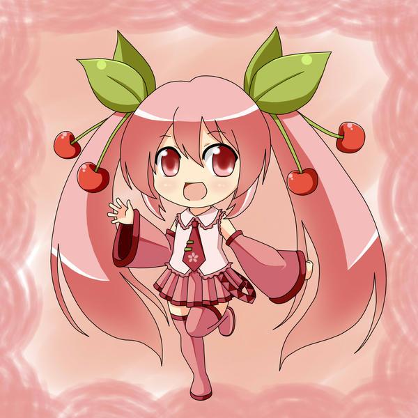 Sakura Miku by Villyane