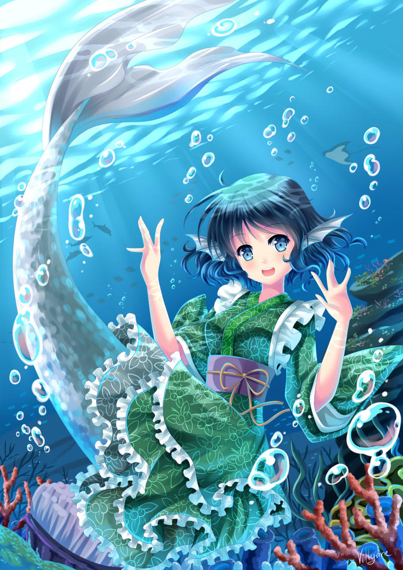 Wakasagihime by Villyane